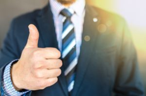 An employer gives a thumbs up to offering life insurance options